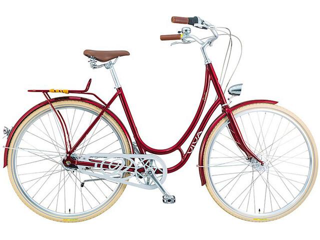 Viva Bikes Emilia Classic Damer, dark red